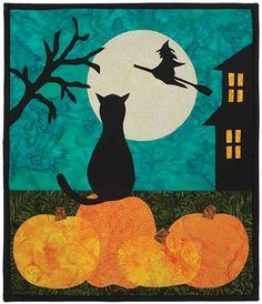 Halloween Eve Night Watch Quilt Kit at Keepsake Quilting.  Design by Sharlene McGlynn.