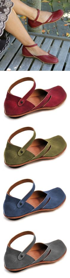 SHOP NOW>>$43.99 Large Size Spring/Fall Women Casual PU Leather Sandals Sock Shoes, Cute Shoes, Me Too Shoes, Shoe Boots, Leather Fashion, Pu Leather, Fashion Shoes, Fashion Accessories, Block Sandals