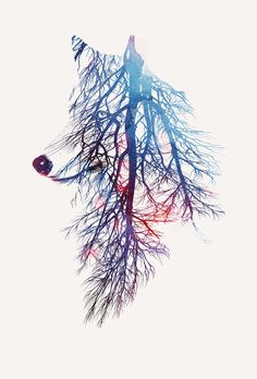 My roots Design Art Print by Robert Farkas
