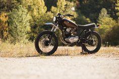 """Retro Bikes Croatia - Yamaha SR250 """"Kokon""""  http://caferacercult.gr/  #retrobikescroatia #yamaha #sr250  #zagreb #croatia #yamahaSR250Kokon #caferacercult #crc"""