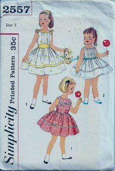 Girls Dress Sewing Pattern Sleeveless Full by PatternPriority,