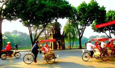 Hanoi cycle tour