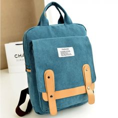 Finally! I found the Mode Freizeit Schule Segeltuch Rucksack from ByGoods.com. I like it so so much!