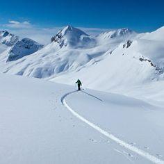 Arc'athlete Stian Hagen in Chamonix