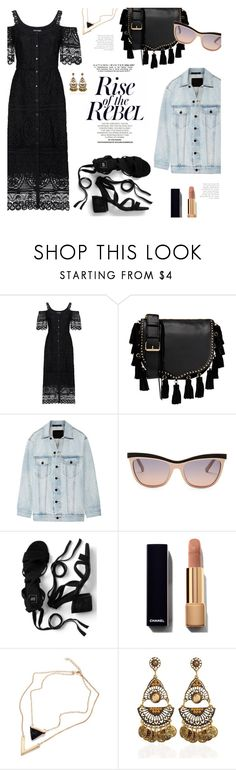 """""""Hey Luv"""" by lisalockhart ❤ liked on Polyvore featuring Temperley London, Rebecca Minkoff, Alexander Wang, Swarovski and LBD"""