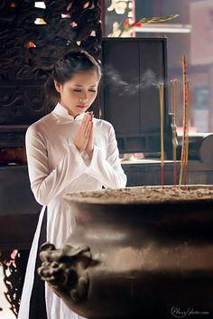 Những cô gái duyên dáng trong tà áo dài Việt Nam, hinh anh dep