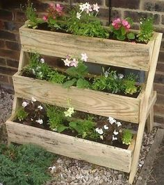 3 Tier Planters - CM Timber Products