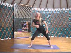 Joyful Dance Isolations with a yoga back bending sequence
