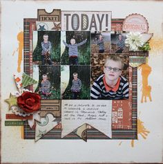 Simple Stories – Awesome – Layouts by Wendy Smith
