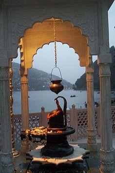 Shiva Temple by Naini Lake - Nainital, Uttarakhand Shiva Linga, Mahakal Shiva, Lord Shiva Hd Wallpaper, Lord Vishnu Wallpapers, Lord Shiva Family, Lord Murugan, Om Namah Shivaya, Hindu Temple, Hindu Deities