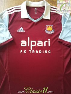 Relive West Ham's 2013/2014 season with this original Adidas home football shirt.