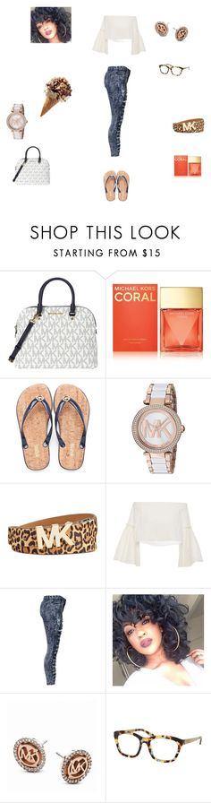 # Love MK by queenraina1 on Polyvore featuring Rosetta Getty and Michael Kors