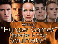 """Which """"Hunger Games"""" Character Is Your Soulmate? I got Finnick!"""