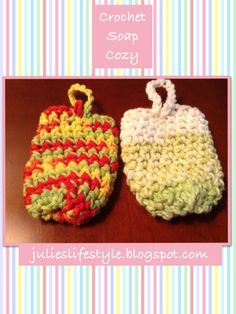 Julie's Lifestyle: Crochet Soap Cozy