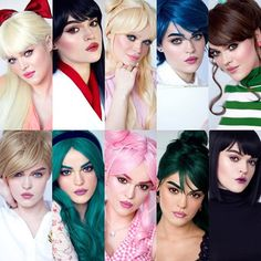 Makeup artist transforms herself into every sailor scout