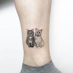 Tatuajes Gatunos Que Volverán Loca A Toda Amante De Los Gatos #CatTattoo