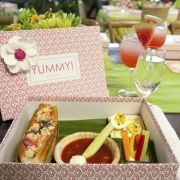 Now that is a boxed lunch! #entertaining