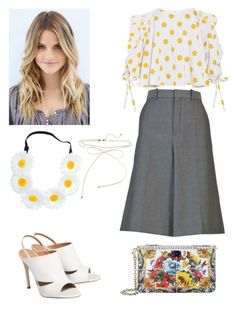 """Untitled #11"" by cjzj on Polyvore featuring Balenciaga, Caroline Constas and Dolce&Gabbana"