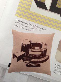 Silk screen inspiration from Boligliv Magazine