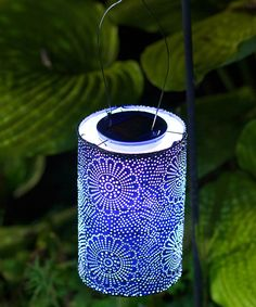 Look at this Blue Soji Solar Stella Lantern on #zulily today!