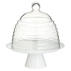 Elegante tartera de cúpula ondulada. Sweetly Does It, by Kitchen Craft.