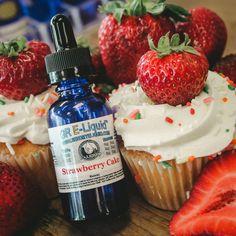E-Liquid - Strawberry Cake E-Liquid