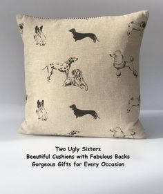 Your place to buy and sell all things handmade Grey Tote Bags, Fabric Storage Baskets, Owl Bags, Dog Cushions, Dachshund Dog, Pet Gifts, Dalmatian, Poodle, Being Ugly