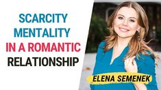 Scarcity Mentality in a Romantic Relationship. Relationship Coach Elena ... Online Psychologist, Family Psychology, Coaching Techniques, Overcoming Anxiety, Relationship Coach, Love Tips, Feelings And Emotions, Marriage And Family, Inspirational Videos