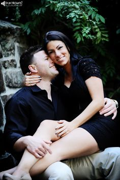 Michele & Jeff's fun #engagement shoot at the Skylands Manor! (photo by www.deanmichaelstudio.com) #wedding #photography @Frungillo Caterers Caterers Caterers