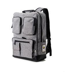 a7562b3144 R68 multi pocket Backpack (Black)