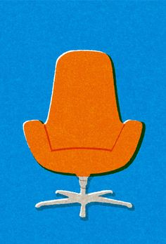 米津祐介のホームページ - orange chair by yusuke yonezu