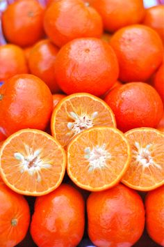 tangerines, an oranger shade of orange