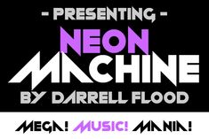 Neon Machine is a modern, futuristic font in an energetic style. This display font is ideal for science fiction themes. Futuristic Fonts, Best Free Fonts, Free Fonts Download, Premium Fonts, All Fonts, Cricut Design, Science Fiction, Improve Yourself