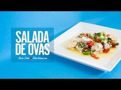 Receita de Salada de Ovas - YouTube