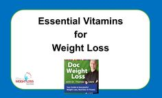 Double board certified Bariatric Surgeon and Bariatrician, Dr. Thomas W. Clark points out why certain vitamins and minerals are essential when it comes to a weight loss program.  What should you be taking to increase your weight loss efforts?