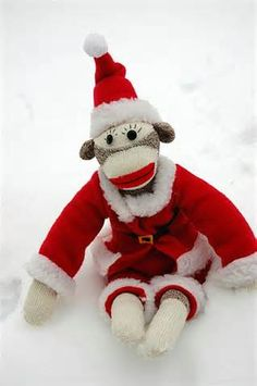 Santa Sock Monkey | Flickr - Photo Sharing!