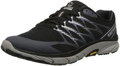 Cool Merrell Women's Bare Access Ultra Trail Running Shoe,Black/Silver,8 M US