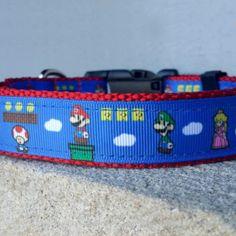 Super Mario Dog Collar Shut Up And Take My Yen : Anime & Gaming Merchandise