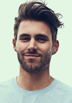 good hair and beard.