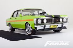 XY falcon Australian Muscle Cars, Aussie Muscle Cars, American Muscle Cars, Custom Muscle Cars, Custom Cars, Transit Custom, Ford Girl, Luxury Rv, Old Classic Cars