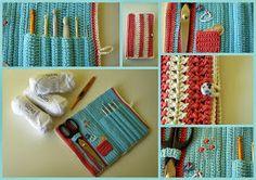 14 Beste Afbeeldingen Van Haaknaalden Etui Crochet Hooks Crochet
