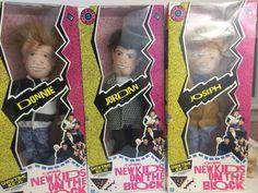 #NKOTB are on a summer reunion tour in 2015! Great time to get their New Kids On Block original Showtime Soft Doll Set 3 NIB Donnie,Jordan,Joseph NKOTB 90 #Hasbro