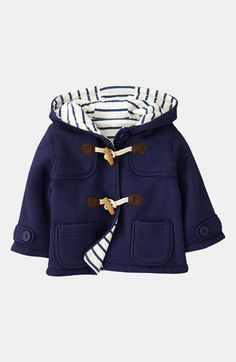 I would love this 0-3 month baby boy coat.   Mini Boden Duffle Coat (Infant) | Nordstrom. $38.00