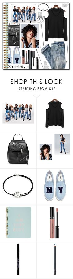 """street style by Sasoza"" by sasooza ❤ liked on Polyvore featuring J.Crew, Marc Jacobs, Alex and Ani, Joshua's, ban.do, Sephora Collection, Urban Decay and NARS Cosmetics"