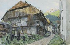 Alexandre Benois (Russian/French, 1870-1960) 'Angous', 1930 unframed