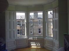 victorian windows - Google Search Victorian Windows, Sash Windows, Window Panels, Bay Window, Old Houses, China Cabinet, Storage, Building, Furniture