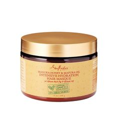 Shea Moisture Manuka Honey & Mafura Oil Intensive Hydration Hair Masque ($12) It infuses your hair with certified organic shea butter, honey, mafura and baobab oils, and fig. The manuka honey contains anti-inflammatory properties that soothe your scalp and help create a moisturizing barrier to protect your hair. It heals, hydrates, replenishes the oils often stripped from your scalp, and keeps your locks looking vibrant at the same time. It's truly a godsend for post-summer hair.