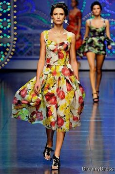 Nice dolce and gabbana dresses 2012 2017-2018 Check more at http://newclotheshop.com/dresses-review/dolce-and-gabbana-dresses-2012-2017-2018/