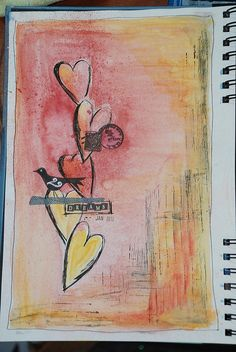 page 1 for art journal 2012