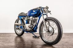 Ignore the tank badge: A delightful custom Ducati 160 Monza by Kinesis Moto